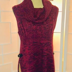 new directions Sweaters - New Directions Cowl Neck Sweater Tunic